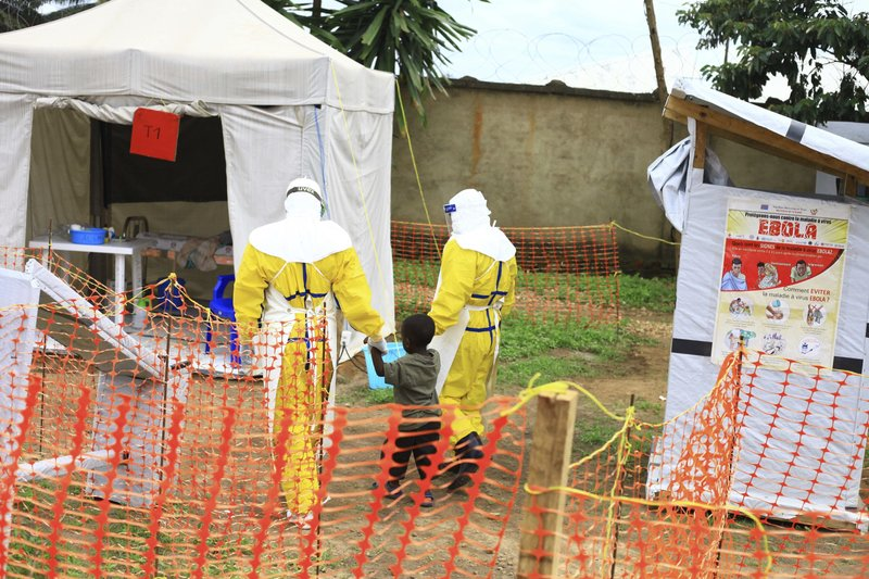 Protection urged for Ebola workers in DR Congo