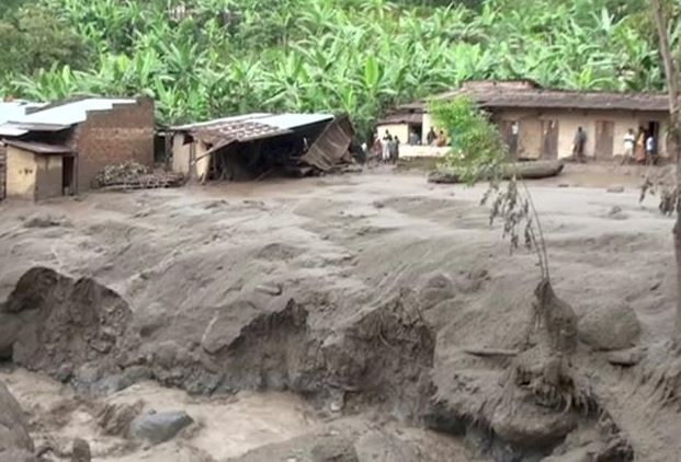 At least 4 feared dead in eastern Uganda landslides