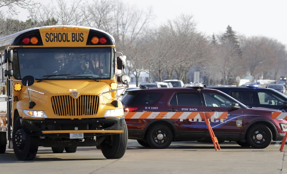Student, officer injured in another high school shooting