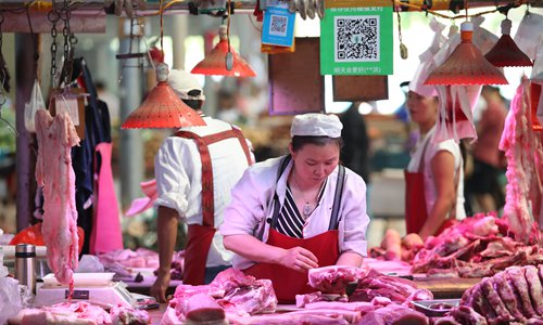 41 detained for smuggling meat in south China