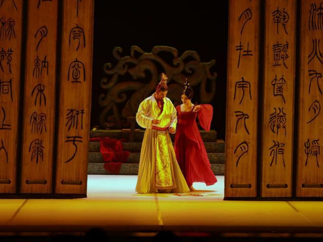 """Dance drama """"Confucius"""" staged in St. Petersburg, Russia"""