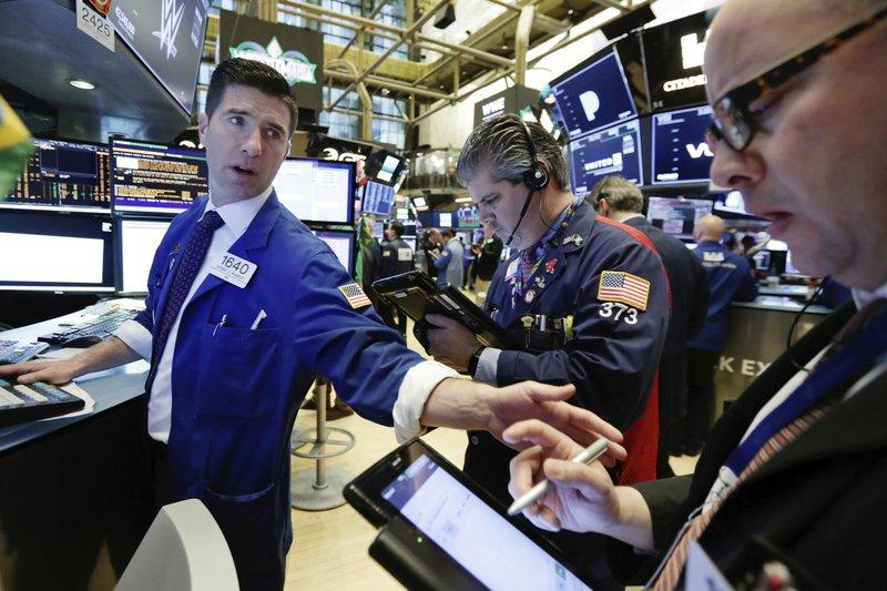 US stocks close lower amid trade uncertainties