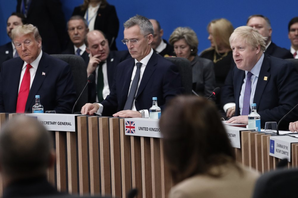 NATO downplays divisions as infighting roils alliance