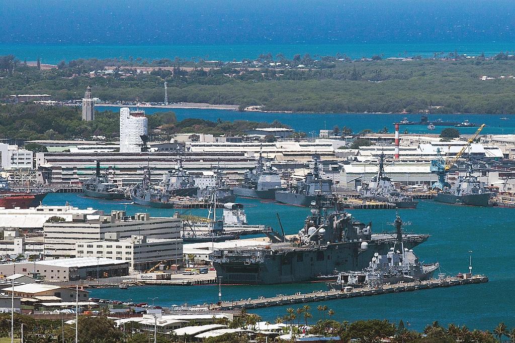 Gunman kills himself after injuring 3 at Pearl Harbor Naval Shipyard