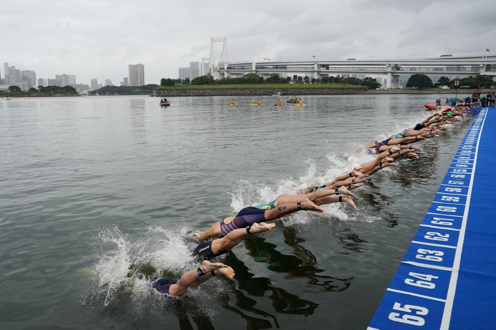 Hot Water: Pressure to move Tokyo Olympics open-water venue