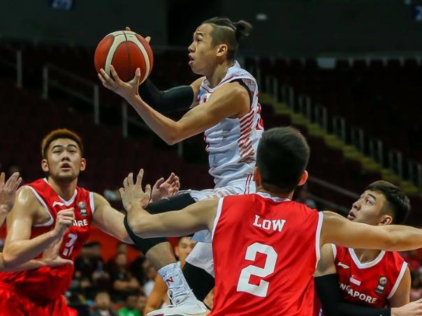 Men's basketball preliminary match at Southeast Asian Games: Vietnam vs. Singapore