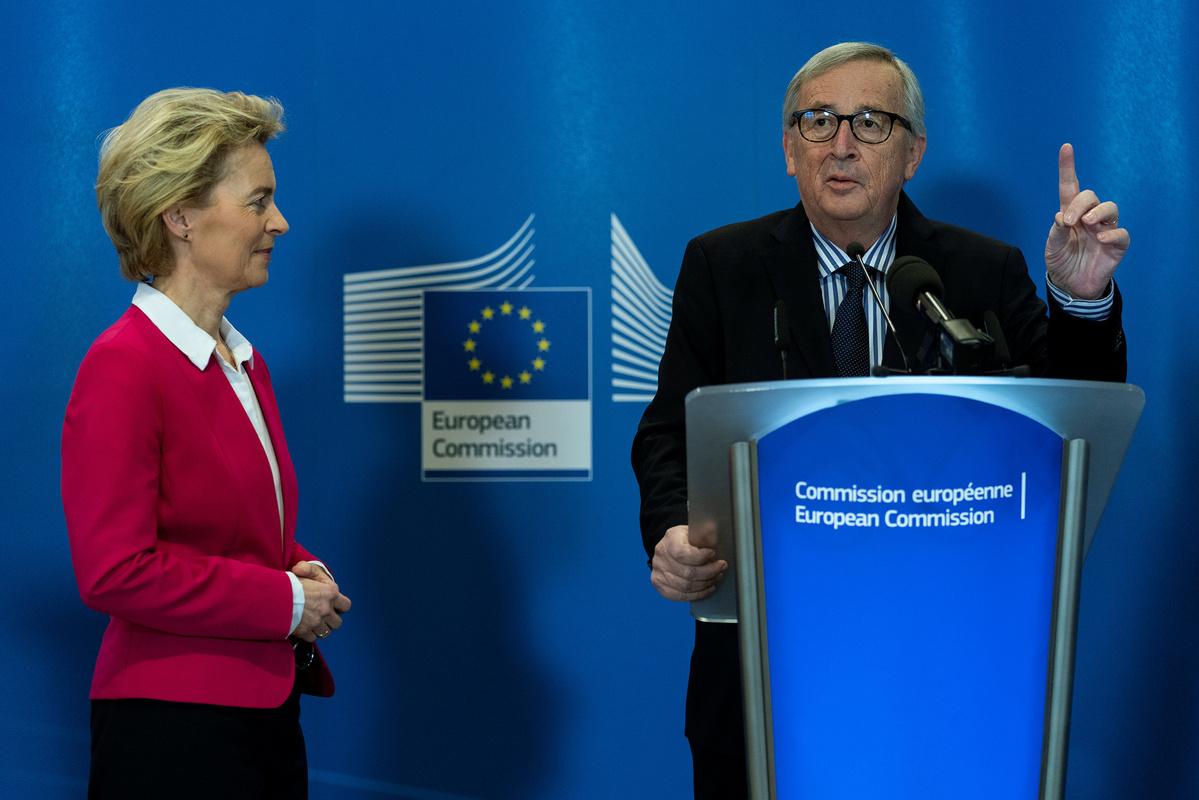 Putin reaches out to EU's new chief