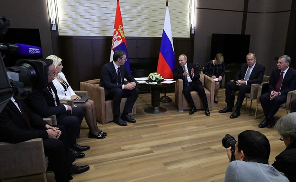 Russia, Serbia pledge to boost energy cooperation