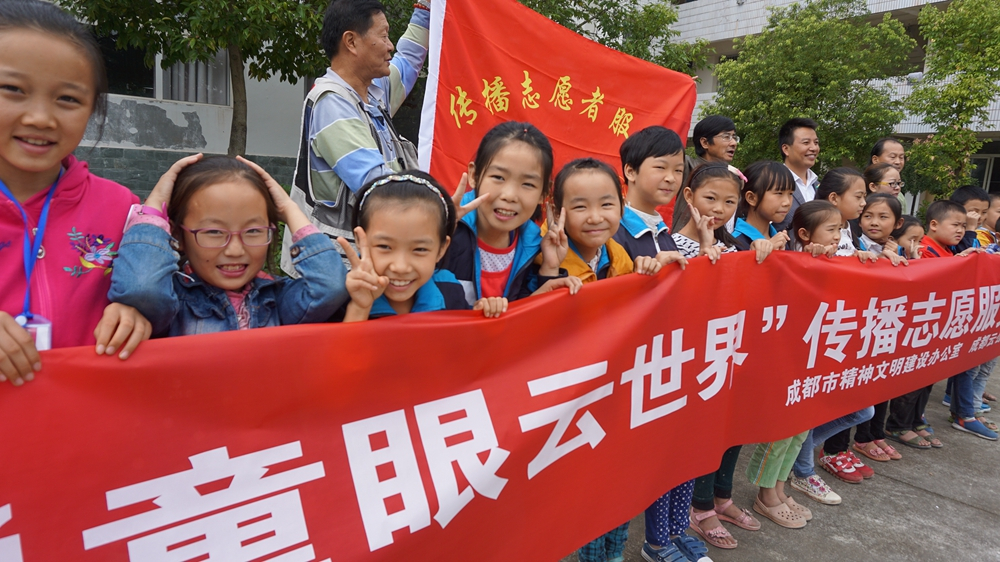 China sees rise in volunteers due to increased awareness
