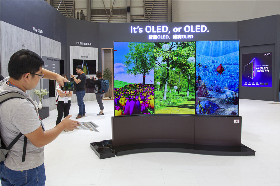 Display panel firms gain ground globally