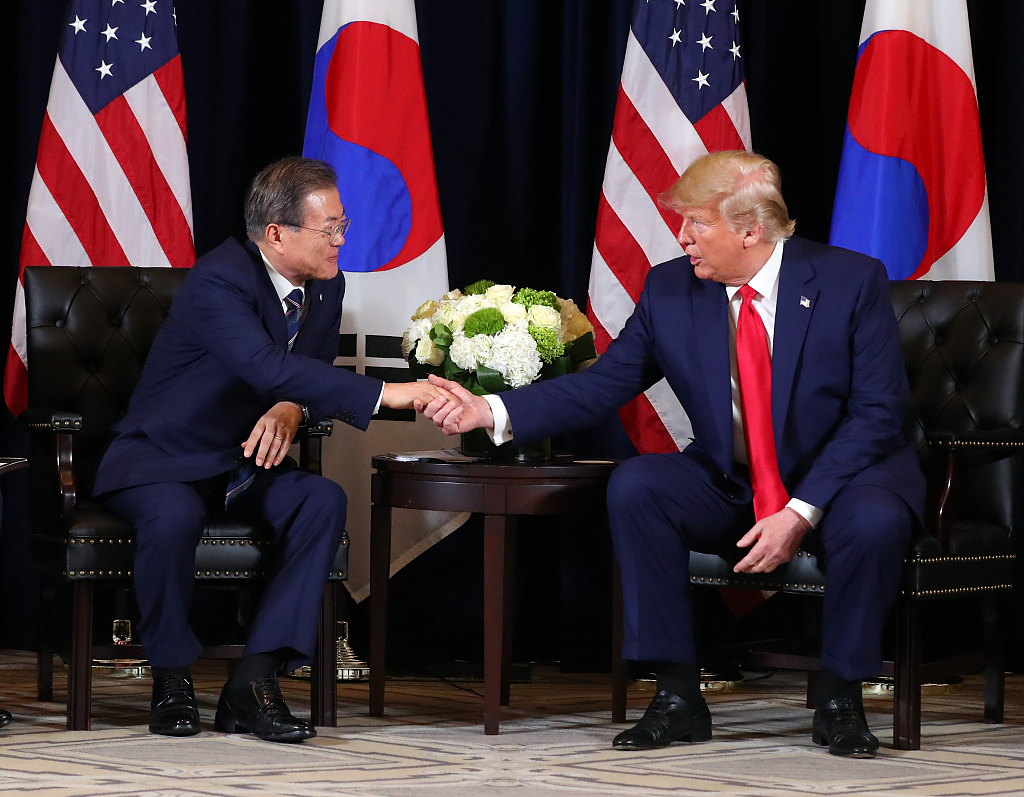 US, ROK presidents discuss trying to maintain talks with DPRK