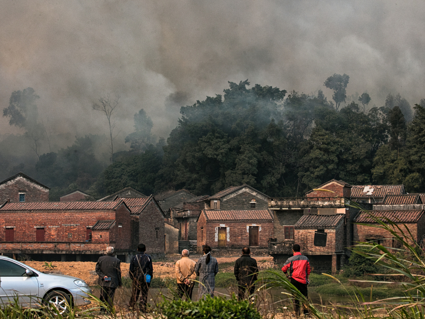 South China forest fire under control