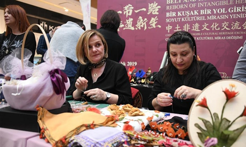China-Turkey intangible cultural heritage exchange held in Istanbul