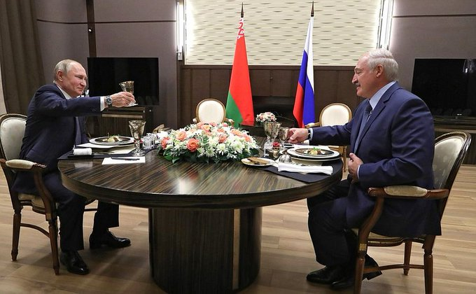 Putin welcomes progress in Russia-Belarus integration