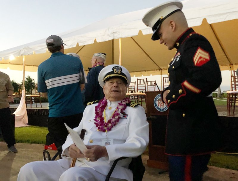 Somber ceremony recalls those killed in Pearl Harbor attack