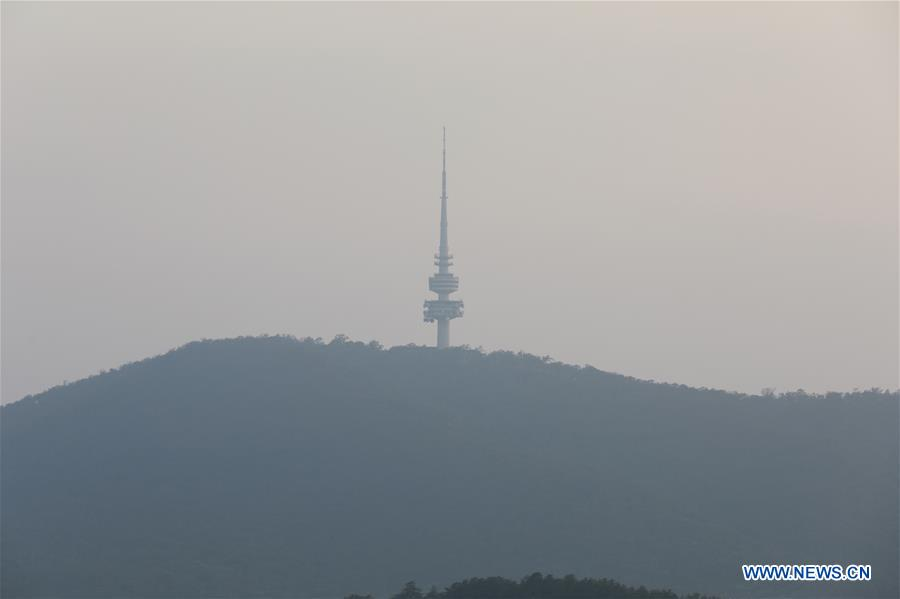 In pics: thick smoke shrouding Canberra