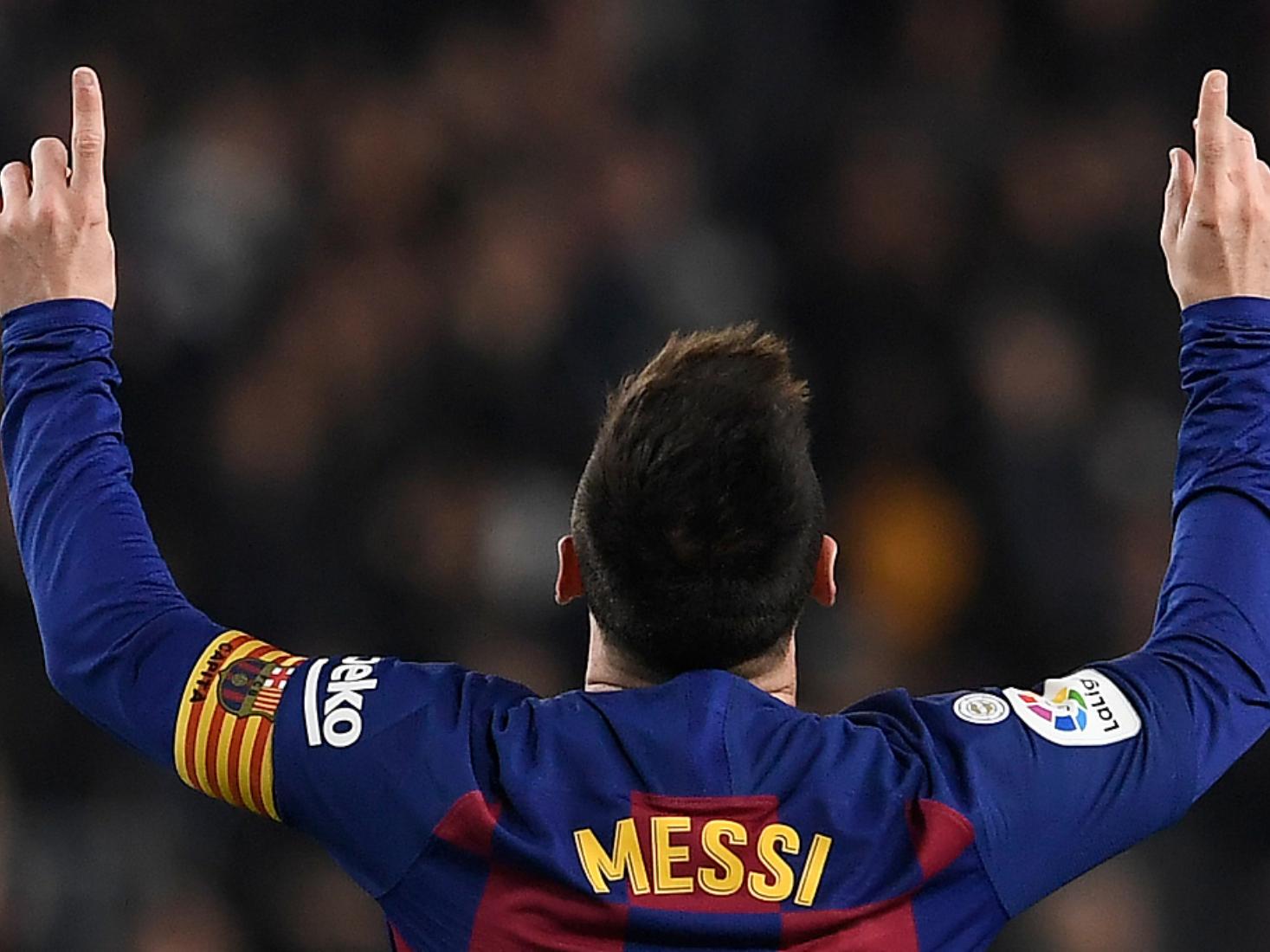 Messi hat-trick breaks La Liga record as Barca put five past Mallorca