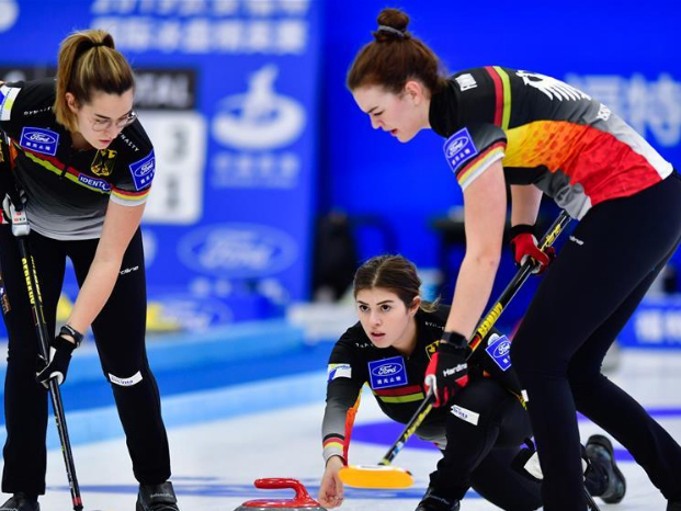 Highlights of women's matches at Int'l Curling Elite 2019