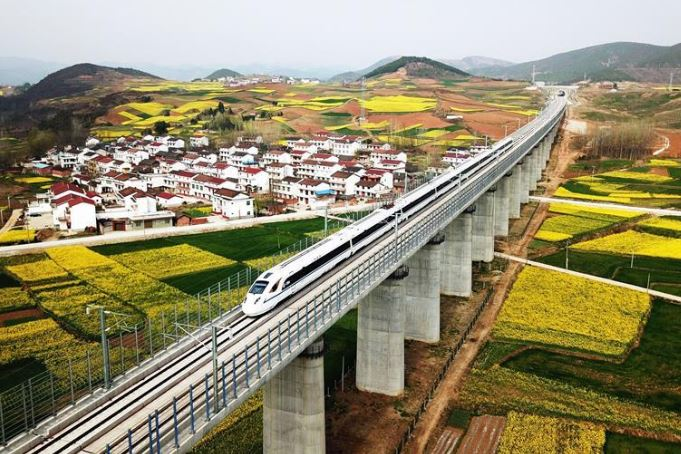 High-speed rail to link prefectural level cities