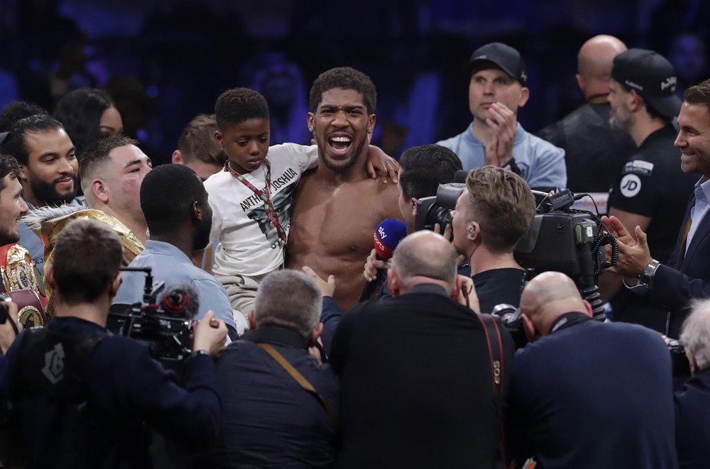 Joshua beats Ruiz on points, reclaims titles in Saudi Arabia