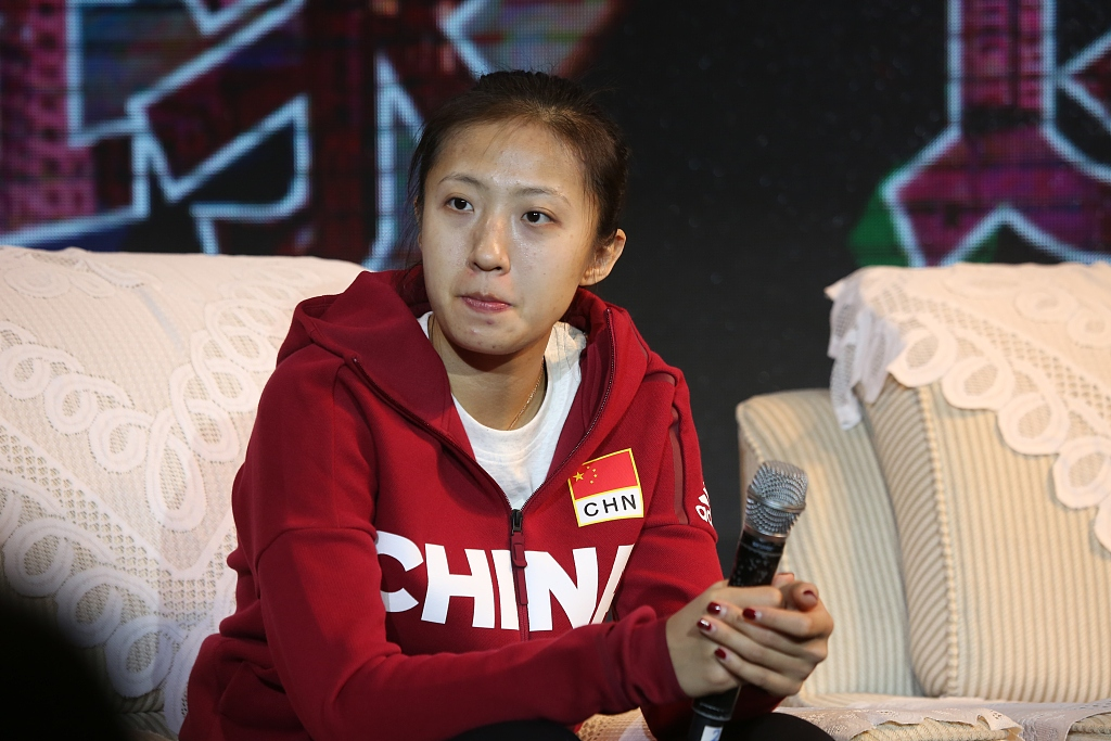 Interview: Go all out for Olympic glory in Tokyo 2020: Ding Xia