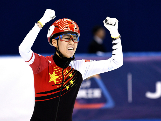 China win two golds at ISU Short Track Speed Skating Shanghai