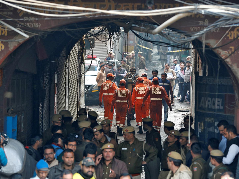 Death toll in Delhi fire reaches 43