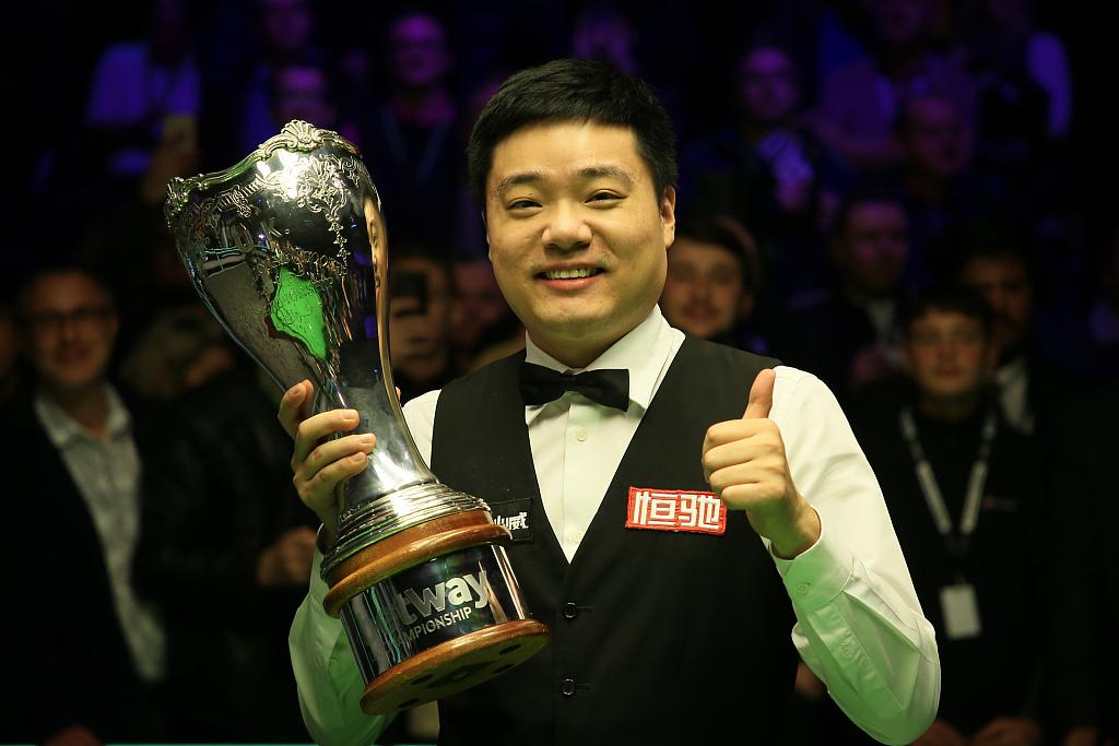 Ding Junhui wins third UK Championship