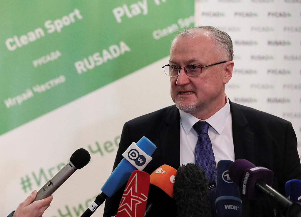 Russia anti-doping chief says 'no chance' of winning ban appeal