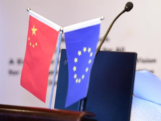 Xi holds phone talks with European Council President Michel