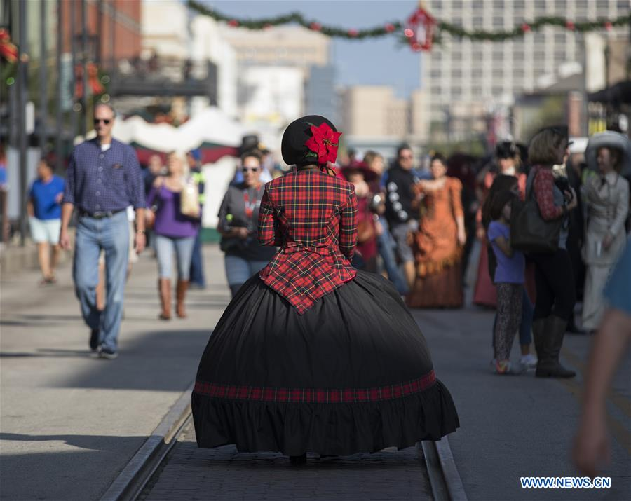 46th Annual Dickens on the Strand held in Galveston, Texas