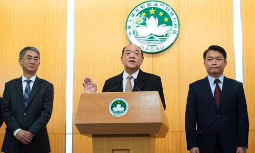 Upholding 'one country, two systems' to maintain Macao's long-term prosperity, stability: incoming Macao SAR chief executive
