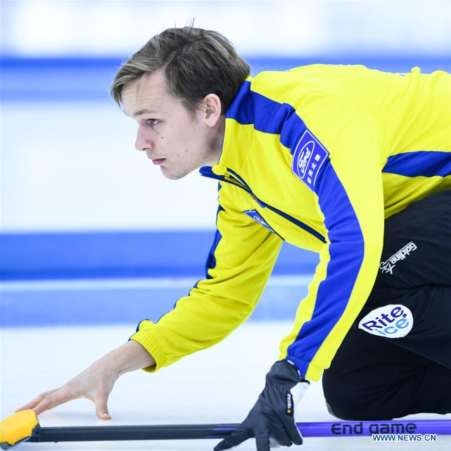 In pics: men's matches at Int'l Curling Elite 2019
