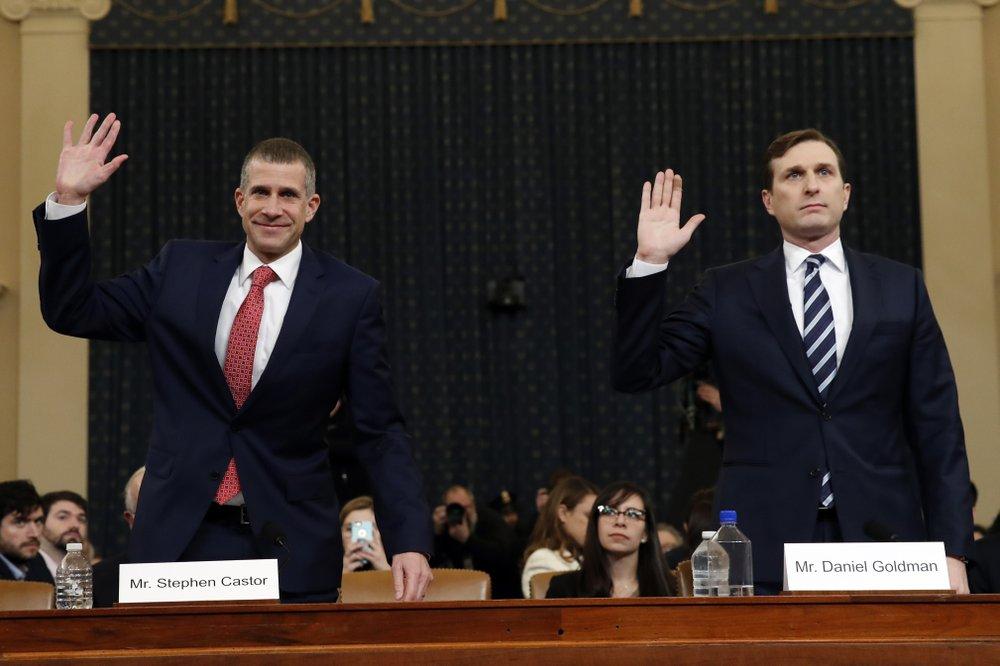 Impeachment witness: Trump poses election 'danger'