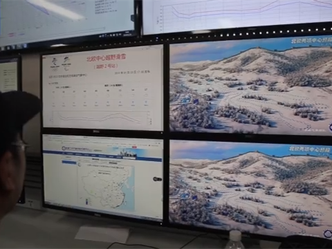 China sets up meteorological observation network for Winter Olympic Games