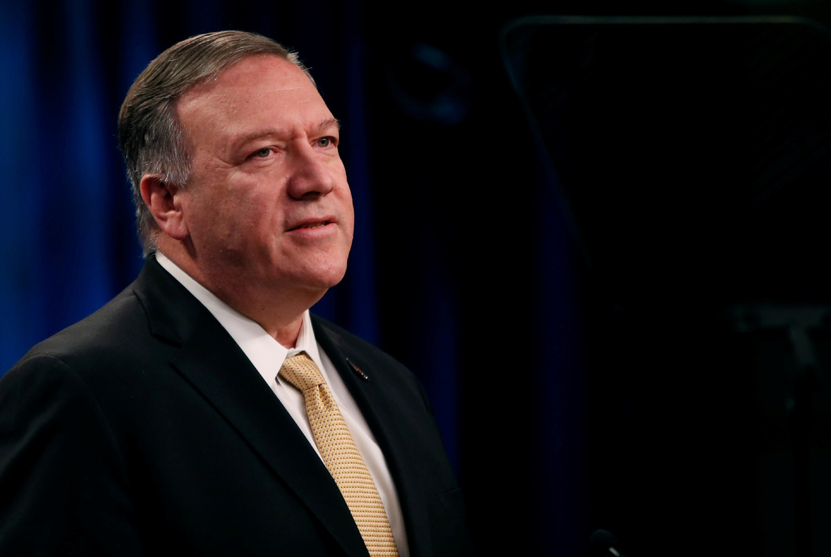 Pompeo meets with Egyptian FM over regional issues, bilateral ties