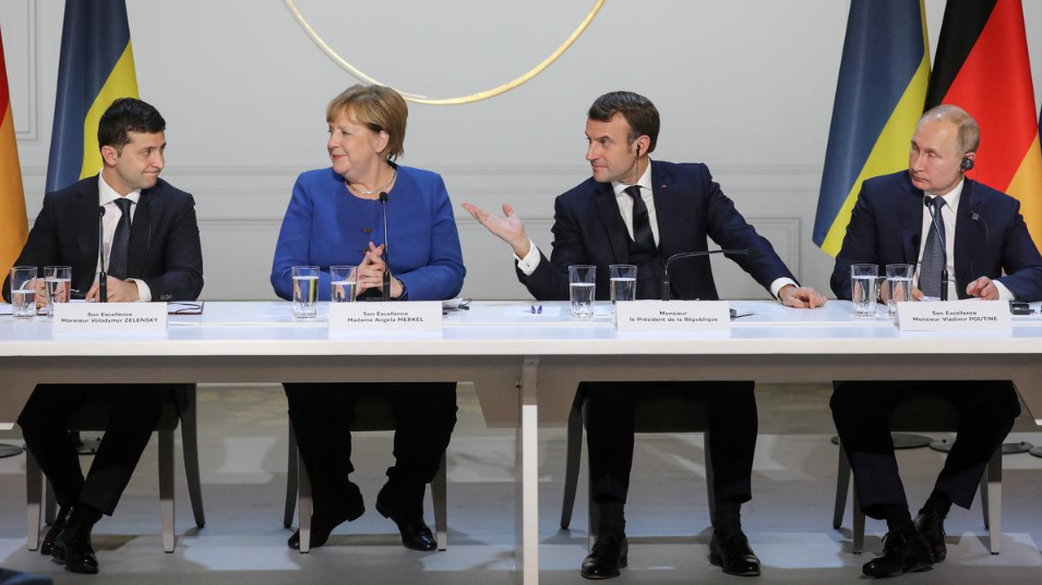 Putin hails Paris summit as 'important step' to ease Ukraine conflict