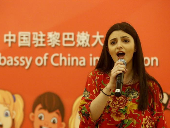 Young Lebanese show talent in Chinese singing competition
