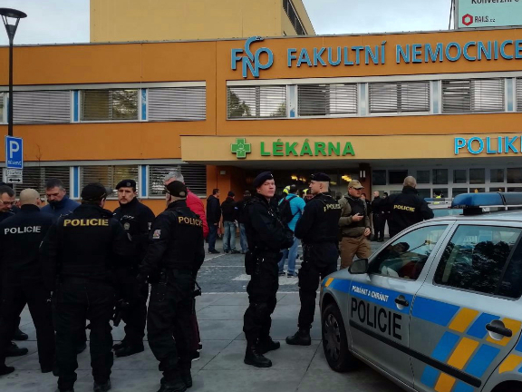 At least six killed in Czech hospital shooting: police