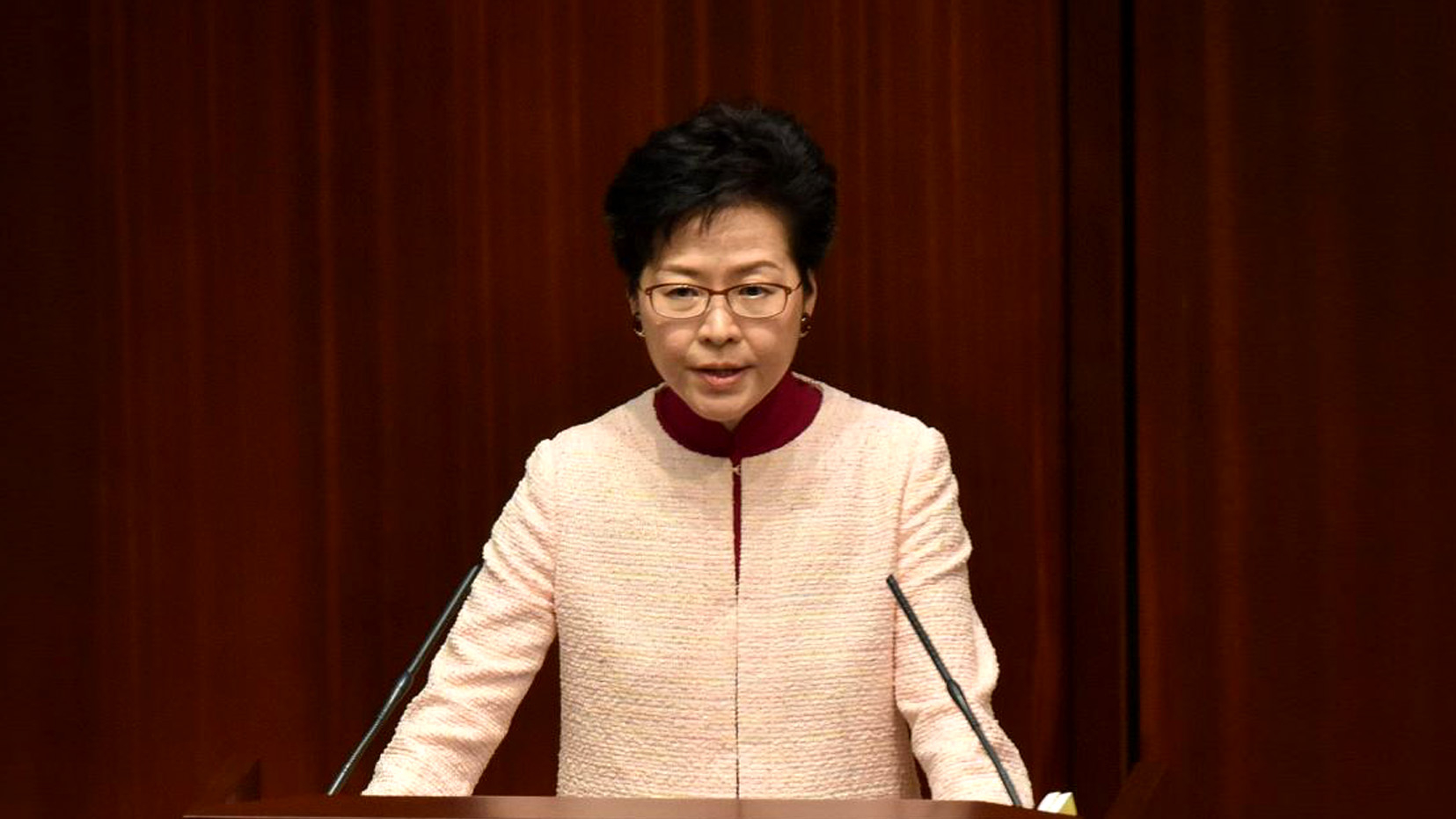 HKSAR chief executive promises continued effort to protect human rights, freedom