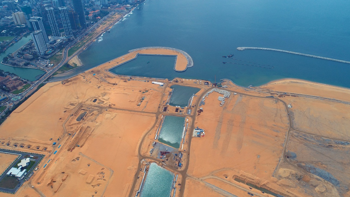 Work on Colombo Port City accelerates