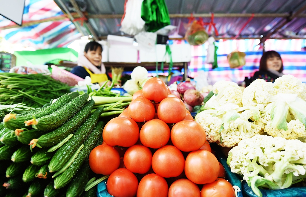 China's CPI rises 4.5% in November