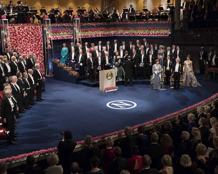 Nobel Prize award ceremonies held in Stockholm