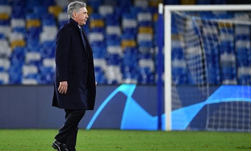 Napoli sack coach Ancelotti