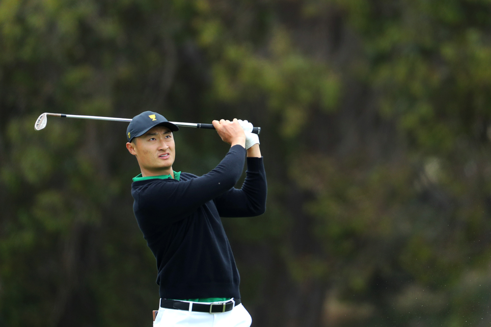 China's Li looks to deliver for Captain Els at Presidents Cup
