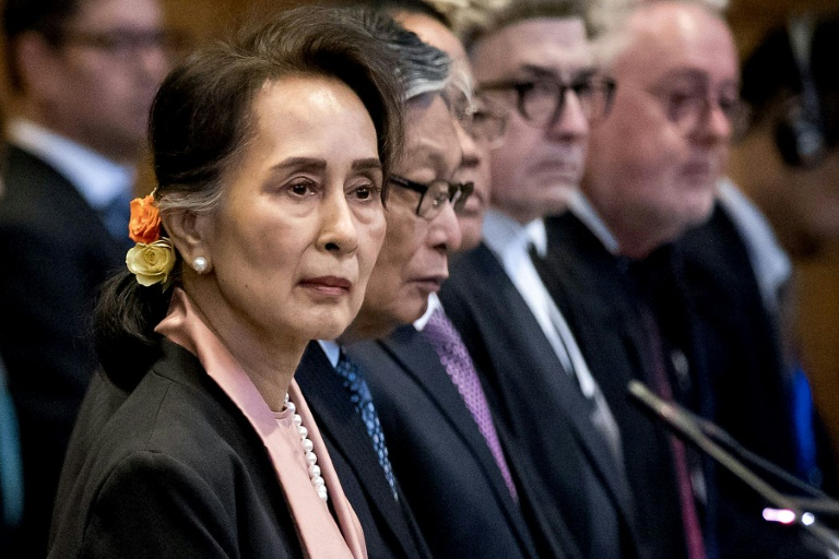 Myanmar's Suu Kyi told to 'stop the genocide' in UN court