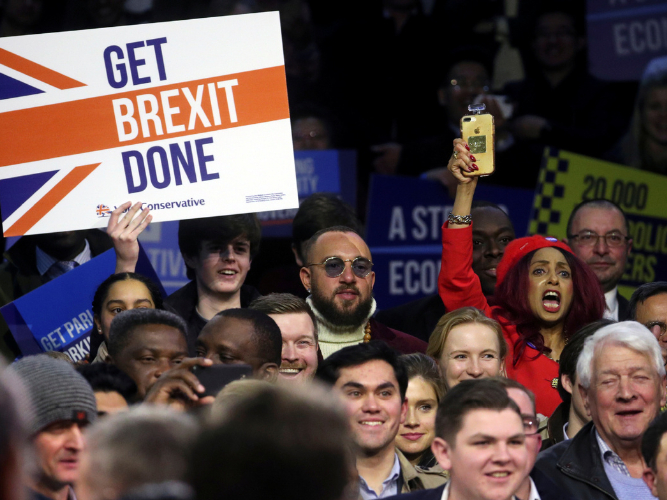 Undecided voters are key target on eve of British election