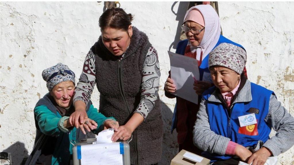 Abu Dhabi CP, Kyrgyz president hold talks on enhancing ties