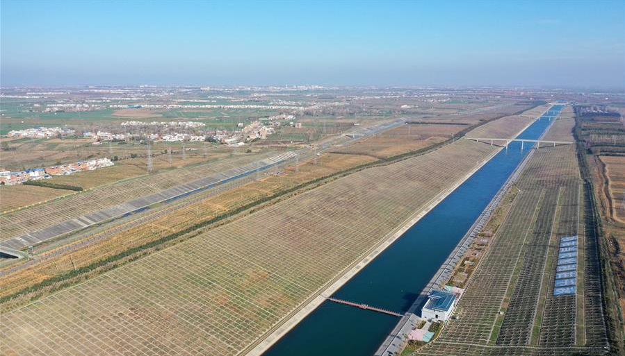 China's mega water diversion project transfers 30 bln cubic meters water