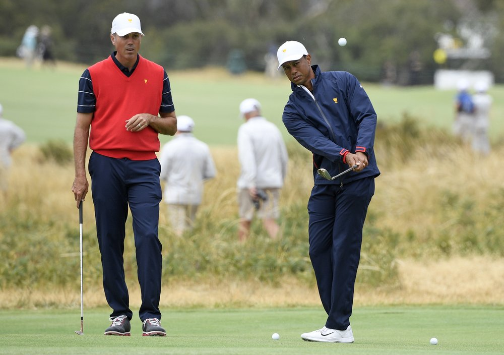 Woods and Els meet again, now as captains of Presidents Cup